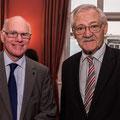 Egon Jüttner mit Bundestagspräsident Prof. Dr. Norbert Lammert (Bildquelle: CDU/CSU-Fraktion im Deutschen Bundestag)
