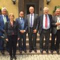 Egon Jüttner in der Deutschen Botschaft in Ankara