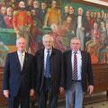 Gespräch mit Vilhjalmur Bjarnason, stellv. Vorsitzender d. Auswärtigen Ausschusses und dem deutschen Botschafter