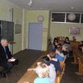 Egon Jüttner beim Vorlesetag an der Freien Interkulturellen Waldorfschule