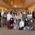 Mannheimer Schülerinnen und Schüler zu Besuch im Deutschen Bundestag