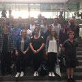 17 Schülerinnen und Schüler des Moll-Gymnasiums zu Gast im Paul-Löbe-Haus des Deutschen Bundestags