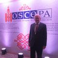 Egon Jüttner auf der Jahrestagung der OSZE in Ulan Bator/Mongolei