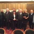 Egon Jüttner mit Mitgliedern des Kulturausschusses der russischen Duma in Moskau