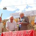 Egon Jüttner bei der Eröffnung der Kerwe in Sandhofen