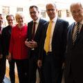 Egon Jüttner mit Bundesminister Dr. Gerd Müller und den Kollegen der Arbeitsgruppe Menschenrechte und Humanitäre Hilfe