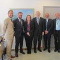 ...Gesprächspartner im Außenministerium in Oslo