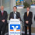 Egon Jüttner beim Neujahrsempfang der Volksbank Sandhofen