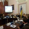Egon Jüttner bei der Delegationsreise in Kiew
