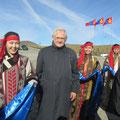 Egon Jüttner am Rande der Jahrestagung der OSZE in Ulan Bator/Mongolei