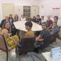 Gespräch mit Schülern der Deutschen Schule