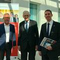mit Karl-Heinz Gössling und einem Mitarbeiter der Deutschen Botschaft