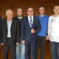 Egon Jüttner bei der Veranstaltung des CDU-Ortsverbands Sandhofen mit Landtagspräsident Guido Wolf