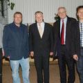 Egon Jüttner beim Starkbieranstich der CDU-Sandhofen mit Ministerpräsident a.D. Erwin Teufel