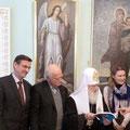 Egon Jüttner bei der Delegationsreise in Moskau
