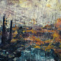 "Anja Kühnrich-Wilke, ""IV"", 2009, Acryl auf Leinwand, 100 x 160 cm"
