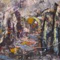 "Anja Kühnrich-Wilke, ""11"", 2009 Acryl auf Leinwand, 120 x 100 cm"