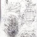 Jardin privé - Luberon - Graphite