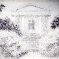 Le temps d'un dessin - Kew Gardens - Graphite