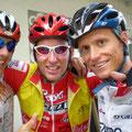 1.Tour: Start mit Simon, Marc und mir