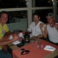 Abendessen mit Simon und Pesche