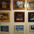 フレスコ画の展示