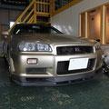 GTR R34 カーセキュリティー