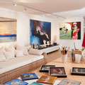 Das Atelier der Kunstagentur Bild & Raum