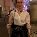 Déborah D'Aietti with our Belladonna Collection
