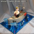 Сладкий корабль для Капитана (без торта)