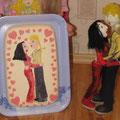 Торт с куклами