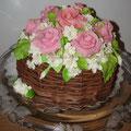 Корзина роз, 4 кг