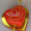 Сердце со стрелой,  2,7 кг