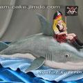 Стелла на акуле, 2,8 кг