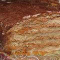 """""""Трюфельный"""". Тонкие шоколадные коржи, нежнейший сливочно-шоколадный крем"""