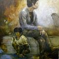 2010 県展奨励賞 『あの日の少年』