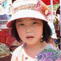 お友達の娘さん。かわいいショコラピンクのキャスケットです。