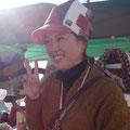 以前に旦那様は 揖斐川サマーフェスタで 夏帽子を買ってもらいました!奥様も!
