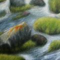 """""""Andenhochland"""" - Öl auf Leinwand 120 x 160 cm, 2017"""