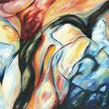 """""""Zwischen Himmel und Erde"""" - Öl auf Leinwand 95 x 140 cm, 2011"""
