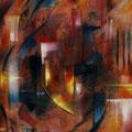 """""""ohne Titel"""" - Öl auf Leinwand 150 x 110 cm, 2008"""