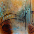 """Klänge"" - Öl auf Leinwand 100 x 130 cm, 2018"