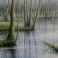 """""""Märkische Schweiz 2"""" - Öl auf Leinwand 150 x 100 cm, 2016"""