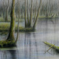 """""""Märkische Schweiz 2"""" - Öl auf Leinwand 150 x 100 cm, 2017"""