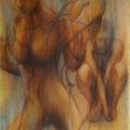 """""""Ohne Titel"""" - Öl auf Leinwand   120 x 100 cm, 2014"""