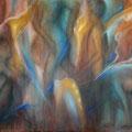 """""""Fragmente"""" - Öl auf Leinwand 130 x 100 cm, 2019"""