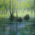 """""""Märkische Schweiz 1"""" - Öl auf Leinwand 100 x 130 cm, 2017"""