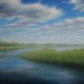 """""""Odertal 1"""" - Öl auf Leinwand 100 x 130 cm, 2015"""