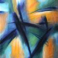 """""""Gegen den Strom"""" - Öl auf Leinwand 150 x 100 cm, 2012"""