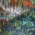 """""""Ohne Titel"""" - Öl auf Leinwand 110 x 150 cm, 2009"""